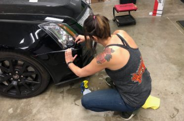 Get Graphic's Chad Munroe and Jennifer Rennicke gain 3M Certification for Scotchguard Paint Protection Film
