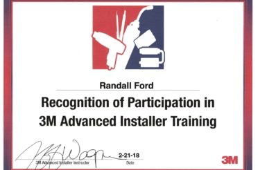 2 more from Get Graphic staff Complete 3M Advanced Installer Training