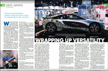 Sign Builder Illustrated Magazine Highlights Get Graphic at SEMA 2016