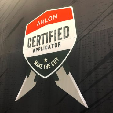 Get Graphic Receives invitation, To attend pilot for Arlon Certified Applicator program.